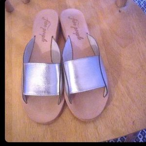 Free People sandals. Size 9. Re Posh!